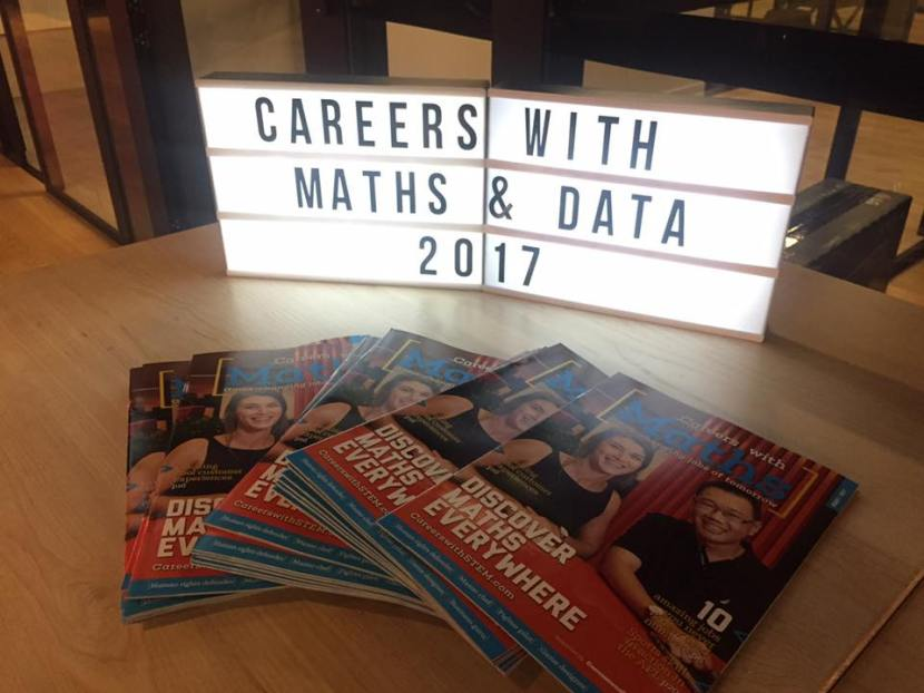 Careers with Maths magazine a bighit